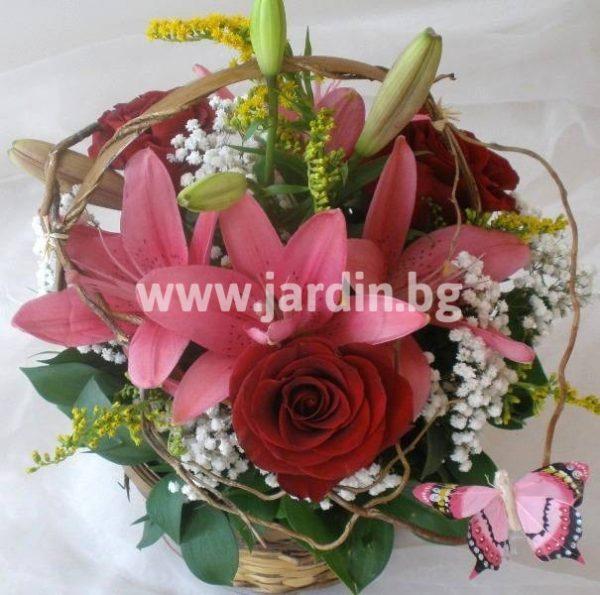 Рози и лилиум 1