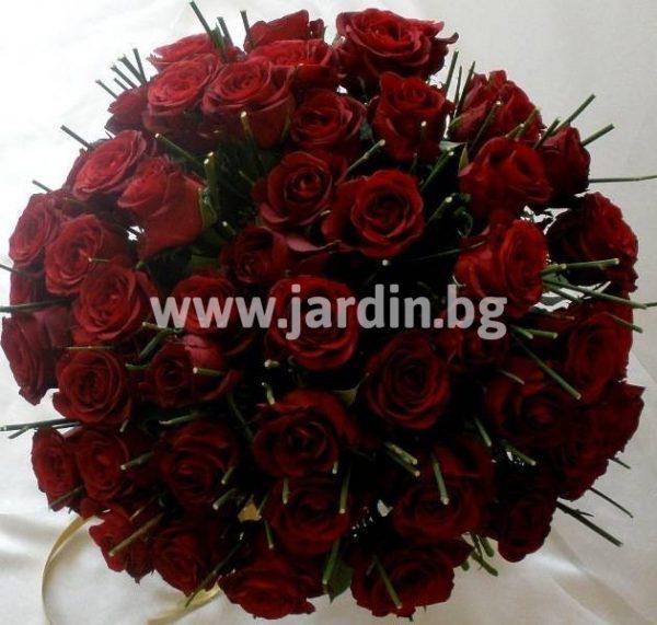 """101 рози """"Изпепеляваща Жарава"""""""