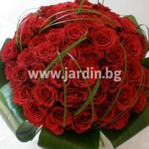 """101 roses """"The Queen"""""""
