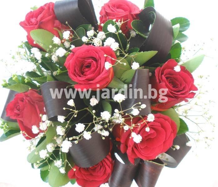 цветя рози и корделине (2)