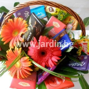 Basket with Chocolates