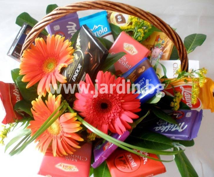 send a basket of flowers in Bulgaria