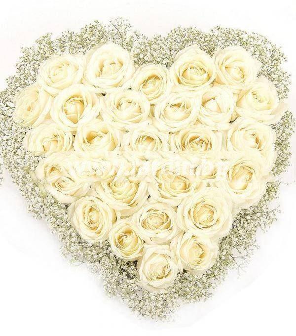 Сърце 29 рози