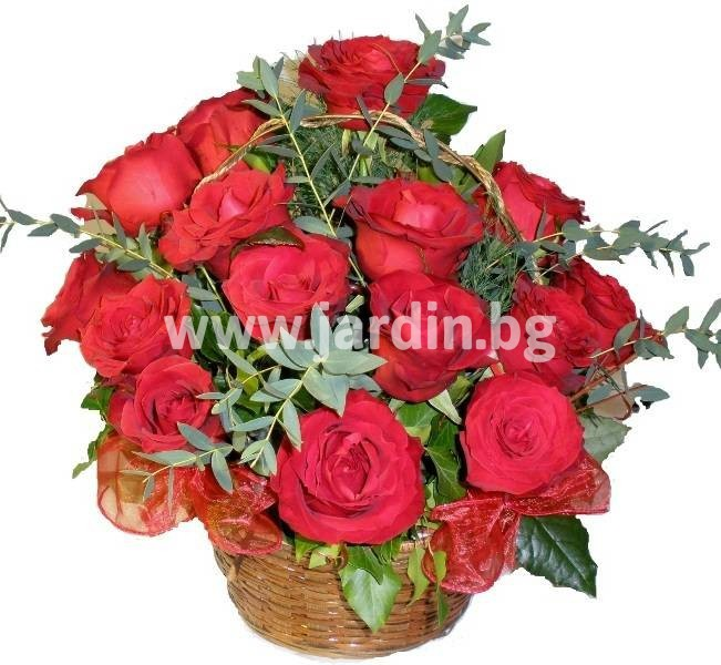 delivery-to-bulgaria-basket-roses