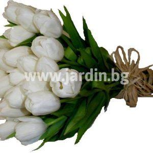 "букет ""Белые тюльпаны"""
