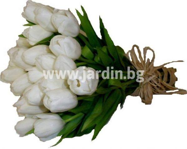 букет Бели лалета