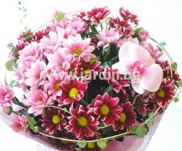 Букет Сладко розово