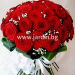 "букет рози ""любовно послание"""