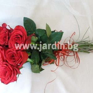 bouquet '7 red roses'
