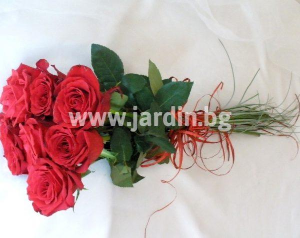 """букет """" 7 червени рози"""""""