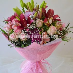 "bouquet ""dreams in pink"""