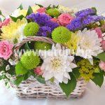 flowers basket