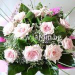 """букет """"розови рози 25″"""
