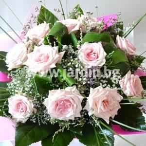 """букет """"розови рози 25"""""""