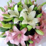 """bouquet """"lilies 7″"""