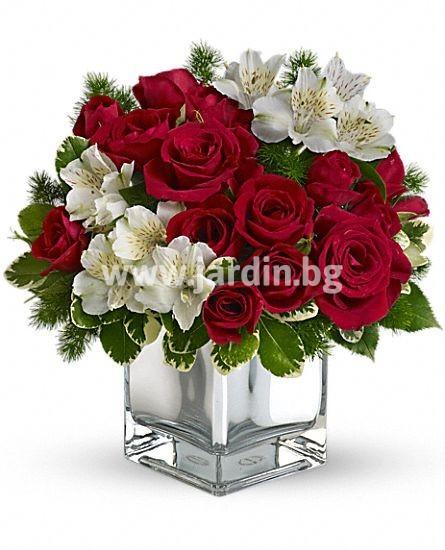 "Christmas Flowers ""Roses"""