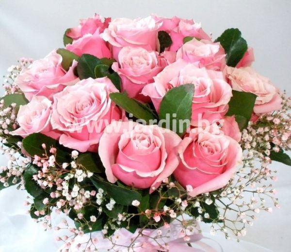 """букет """"розови рози"""" №1"""