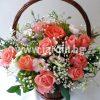 """кошница""""розови рози""""№3"""