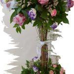 tree arrangement of flowers