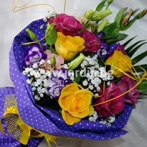 """bouquet """"Mood with roses"""""""