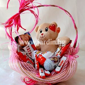 "basket of goodies ""Kinder"""