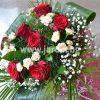 букет червени рози Сияние
