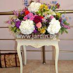 Basket Flow of Flowers