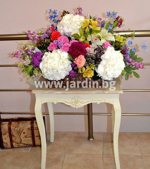 кошница Прилив на цветя
