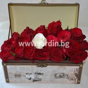 Roses in box №3