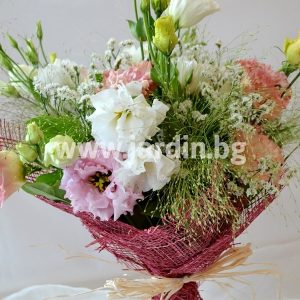 Bouquet with Eustoma №1