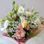 Bouquet with Eustoma