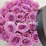 Розы в коробке №8