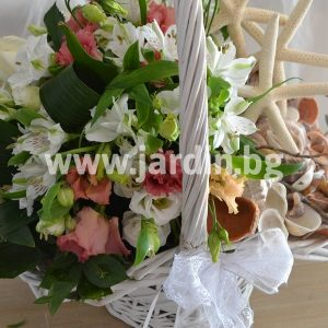 Basket Flowers and marine emotions