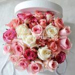 Розы в коробке №11