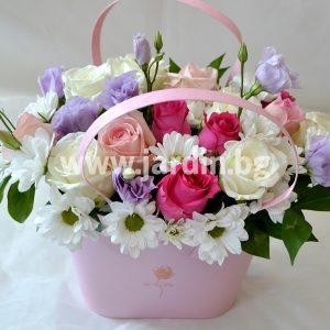 Roses in box №12