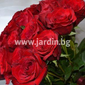Букет красных роз №7