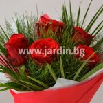 Bouquet red roses №8