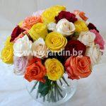 Розы в вазе № 2
