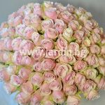 букет  Розови рози №5