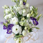 Bouquet with Eustoma №2