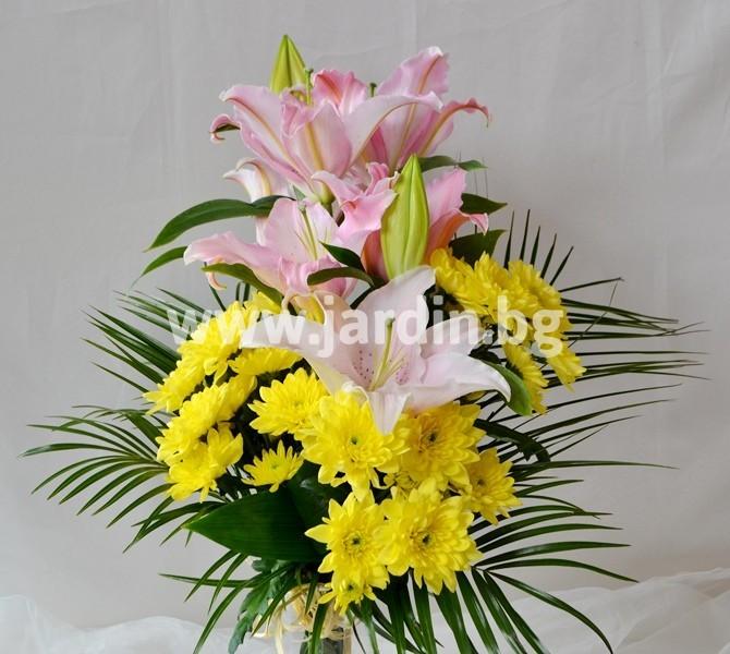 bouquet_lilies_chrysanthemums (1)