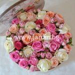 Рози в кутия №15