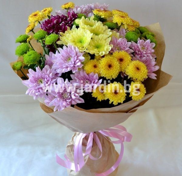 Букет Хризантеми №1