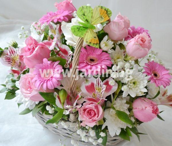 кошница Розови Рози №4