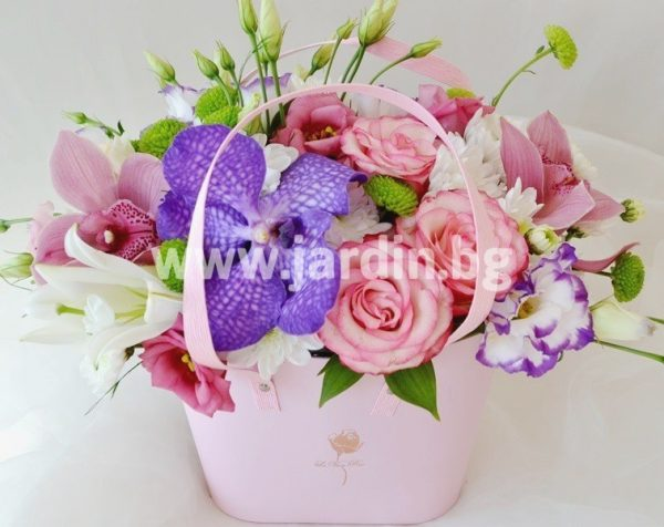 flowers in a box №3