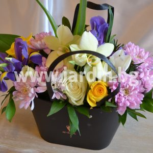 а flowers in a box №4