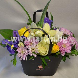 цветы в коробке №4