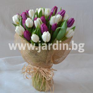 bouquet of tulips №13
