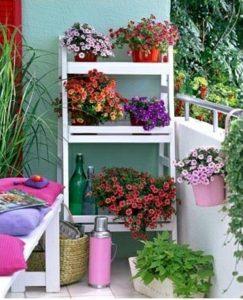Интересни идеи за градина на балкона