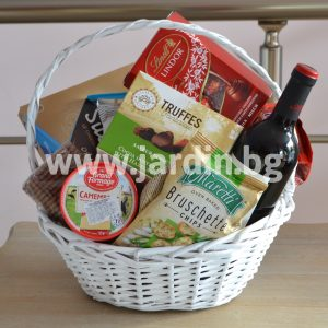 Greeting basket  Party mix